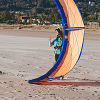 Kite School Tarifa kite launch